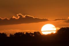 opkomen van zon